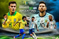 Brazil - Argentina: 'Siêu kinh điển' tại Copa America 2019