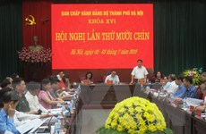 Khai mạc Hội nghị lần thứ 19 Ban Chấp hành Đảng bộ thành phố Hà Nội
