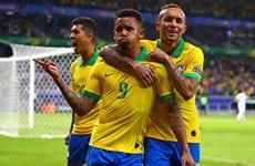'Song sát' Jesus-Firmino tỏa sáng, Brazil gieo sầu cho Argentina