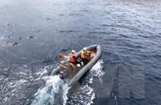 Bình Thuận: Chìm tàu cá, 5 thuyền viên vẫn đang mất tích