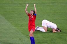 Đánh bại Anh, Mỹ lần thứ 5 góp mặt ở chung kết World Cup nữ
