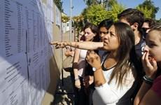 Pháp: Đình công trong ngành giáo dục gây ảnh hưởng đến kỳ thi tú tài