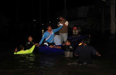 Thời tiết cực đoan gây mưa lớn và lũ lụt ở Thái Lan và Trung Quốc