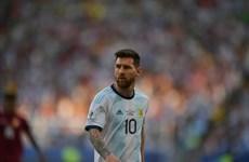 Messi tức giận không lên nhận huy chương cùng tuyển Argentina
