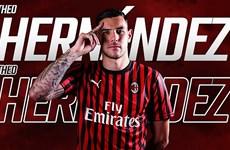 Theo Hernandez chia tay Real Madrid, gia nhập AC Milan