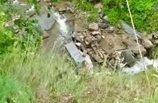 Sơn La: Xe tải lao xuống vực trên Quốc lộ 37, một người tử vong