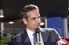 Tân Thủ tướng Hy Lạp Kyriakos Mitsotakis tuyên thệ nhậm chức