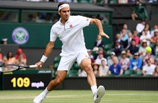 Wimbledon: Federer cận kề kỷ lục mới, tay vợt 15 tuổi dừng bước