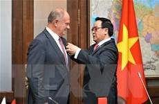 Đoàn đại biểu Đảng Cộng sản Việt Nam làm việc tại Liên bang Nga