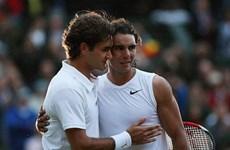 Cận cảnh Federer 'đại chiến' Nadal, Djokovic thắng tốc hành