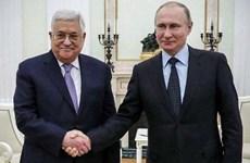 Lãnh đạo Nga và Palestine điện đàm về giải pháp Trung Đông