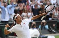 Cận cảnh Federer đánh bại Nadal ở trận 'đại chiến trong mơ'