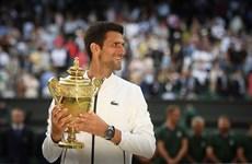 Cận cảnh Djokovic hạ Federer, lần thứ 5 vô địch Wimbledon