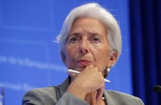 Tổng Giám đốc Quỹ Tiền tệ Quốc tế Lagarde đệ đơn từ chức