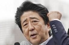 Đảng cầm quyền của Thủ tướng Nhật Bản chiếm ưu thế trước bầu cử