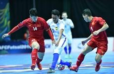 Tuyển Việt Nam vào bảng 'tử thần' tại giải Futsal Đông Nam Á
