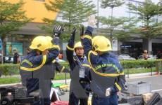 Đoàn Việt Nam tham gia cuộc thi cứu hộ cứu nạn tại Malaysia