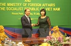Hợp tác toàn diện Việt Nam-Campuchia không ngừng được củng cố