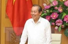 Phó Thủ tướng Thường trực Trương Hòa Bình làm việc tại Sơn La