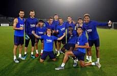 Barcelona sẵn sàng cho trận 'đại chiến' với Chelsea