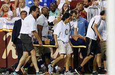Marco Asensio đau đớn rời sân và được đưa thẳng đến bệnh viện