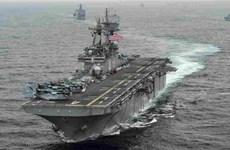 Tướng Mỹ: Tàu chiến đã bắn hạ 2 máy bay không người lái Iran