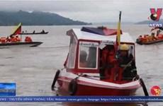 Video hiện trường vụ lật tàu gây nhiều thương vong tại Myanmar