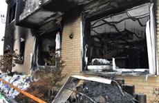 Nhật Bản: Cảnh sát khám xét nhà nghi phạm phóng hỏa xưởng phim
