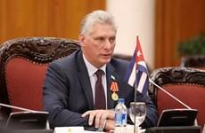 Chủ tịch Cuba khẳng định đoàn kết là yếu tố thiết yếu để phát triển