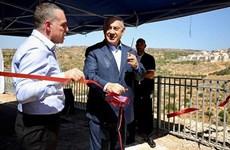 Thủ tướng Israel thăm Bờ Tây, cam kết không dỡ bỏ các khu định cư