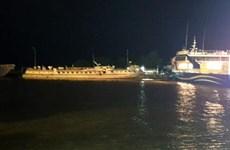 Kiên Giang: Cháy tàu cao tốc đang neo đậu tại cảng Rạch Giá