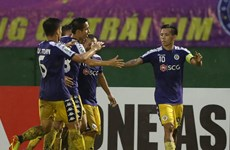 Văn Quyết lập công, Hà Nội FC giành ưu thế trước B.Bình Dương