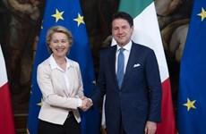 Chủ tịch EC đề cao vai trò của Italy trong một EU thống nhất