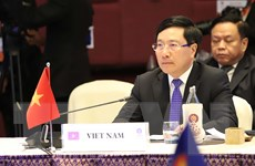 Phó Thủ tướng dự Hội nghị Bộ trưởng Ngoại giao ASEAN với các đối tác