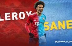 'Bom tấn' Leroy Sané sẽ ra mắt ở Bayern Munich vào tuần tới?
