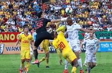 Hoàng Anh Gia Lai đánh rơi chiến thắng trước Nam Định ở phút cuối