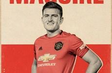 Hậu vệ Harry Maguire chính thức gia nhập Manchester United