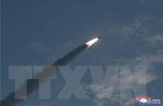JCS nhận định về vụ phóng vũ khí mới nhất của Triều Tiên