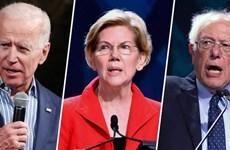 Các ứng cử viên Sanders và Warren thu hẹp khoảng cách với ông Biden