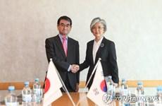 Hàn-Trung-Nhật thảo luận về cuộc gặp giữa các ngoại trưởng 3 bên