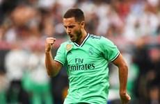 Eden Hazard ghi bàn thắng đầu tiên trong màu áo Real Madrid
