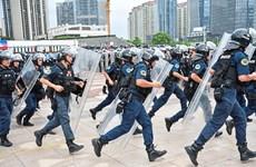 Trung Quốc nâng cao năng lực tác chiến của lực lượng cảnh sát