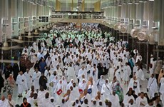 Khoảng 2,5 triệu tín đồ Hồi giáo bắt đầu hành hương về Mecca