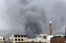 Liên quân Arab tấn công các khu vực đe dọa Chính phủ Yemen