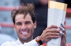 Nadal lần thứ 5 vô địch Rogers Cup, thiết lập kỷ lục mới