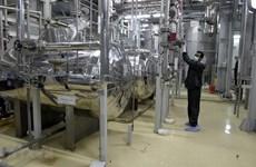 Kho dự trữ uranium làm giàu thấp của Iran đã vượt 360kg