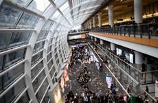 Trung Quốc lên án hành động bạo lực ở sân bay quốc tế Hong Kong