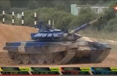 [Video] Xem đội tuyển xe tăng Việt Nam thi đấu chung kết Tank Biathlon