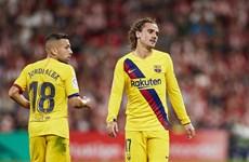 Đương kim vô địch Barcelona 'nếm trái đắng' trong ngày ra quân