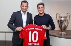 Coutinho chính thức gia nhập Bayern Munich, khoác áo số 10